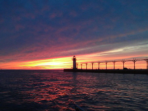 Dustin's Dream Fishing Charters :: Come Fish Lake Michigan With Us!